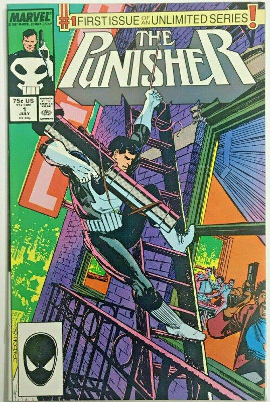 PUNISHER#1 VF/NM 1987 MARVEL COMICS