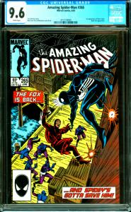 Amazing Spider-Man #265 CGC Graded 9.6 1st Appearance of Silver Sable