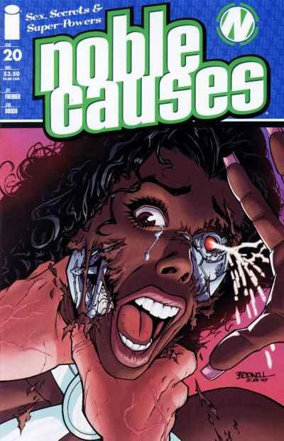 Noble Causes (2004 series) #20, VF (Stock photo)