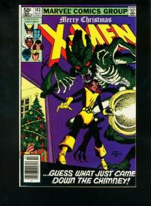 UNCANNY X-MEN #143 1981-MARVEL COMICS-XMAS NM-