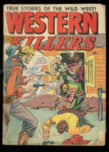WESTERN KILLERS #61 1948-FOX FEATURES-BILLY THE KID-GUN G/VG