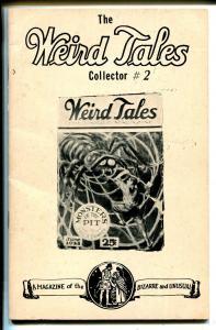 Weird Tales Collector #2 1977-Weinberg-fanzine-index from 1/1928 thru 12/1932-VG