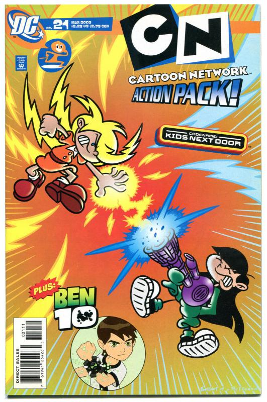 CARTOON NETWORK #21, NM-,  Action Pack, 2006, more in store