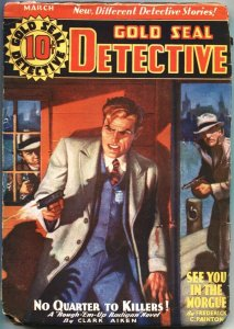 GOLD SEAL DETECTIVE-MARCH 1936--HARDBOILED PULP STORIES---CRIME