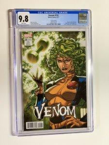 Venom 152 cgc 9.8 lim lee x-men card cover variant Polaris