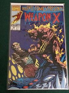 Marvel Comics Presents #83 Wolverine's origin as Weapon X
