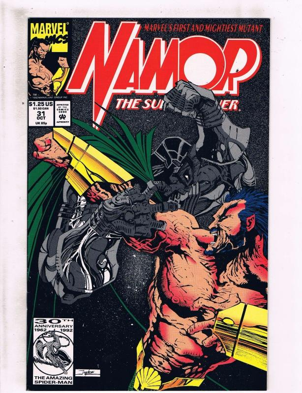 4 Marvel Comic Books # 1 31 42 305 Namor West Coast Avengers Excalibur HJ4