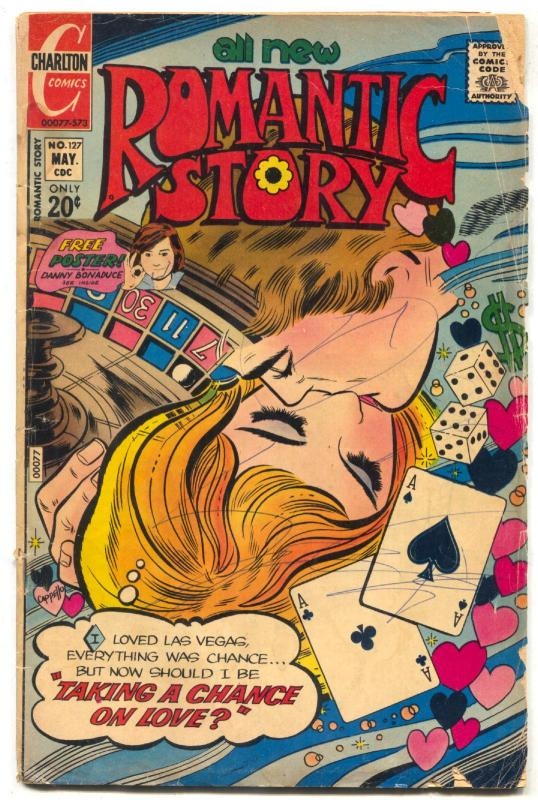 Romantic Story #127 1973- Charlton- Gambling cover G