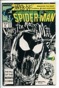 WEB OF SPIDER-MAN (1985 MARVEL) #33 FN/VF NM