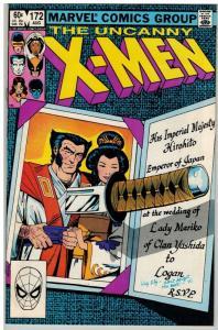 X MEN 172 FN Aug. 1983