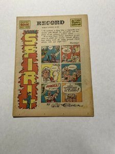 The Spirit Comic Book Section August 10 1941 Vf/nm