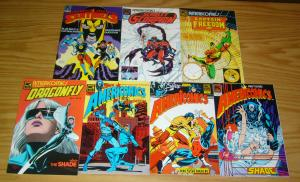 Americomics #1-6 VF/NM complete series + special - blue beetle sentinels justice