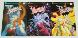 Varcel's Vixens #1-3 VF/NM complete series - caliber comics furry bad girls set