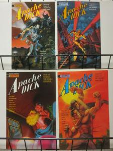 APACHE DICK (1990 ET) 1-4  Trouble With Girls spinoff
