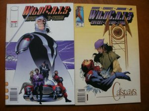 2 Image WILDCATS: COVERT ACTION TEAMS #25 #26 (1995) Moore Charest Johnson