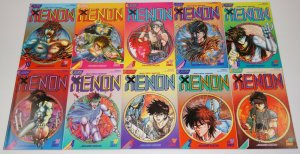 Xenon #1-23 VF/NM complete series - eclipse comics/viz manga heavy metal warrior