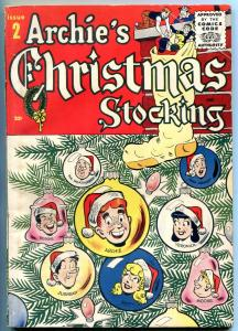 Archie's Christmas Stocking #2 1955-BETTY AND VERONICA-Giant Edition VG+