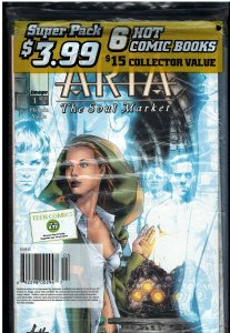 Super Pack - 6 Hot Comic Books Sealed