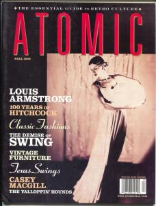 Atomic-The Magazine of Retro Culture-Fall 1999-pin-ups-culture-music-FN/VF