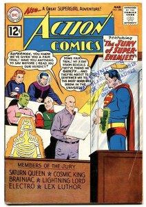 ACTION COMICS #286 DC SUPERMAN 1962 BRAINIAC LUTHOR VG