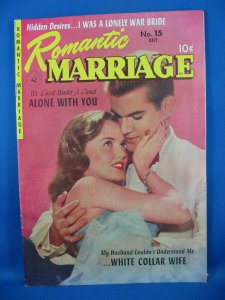 ROMANTIC MARRIAGE 15 Fine VF Murphy Anderson 1953