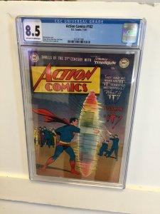 Action Comics #162 CGC 8.5 VF+ dc comics 1951 win mortimer GOLDEN AGE superman