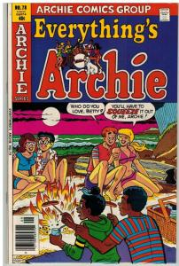 EVERYTHINGS ARCHIE (1969-1991) 78 VF+ Sept. 1979