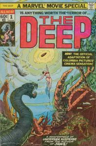Deep, The #1 VF/NM; Marvel   save on shipping - details inside