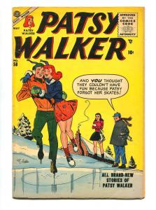 PATSY WALKER #58 1955-ATLAS-AL JAFFEE-VG+