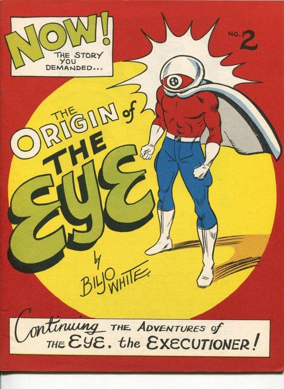 EYE #2 1969-BILJO WHITE-FANZINE-SFCA-LIMITED DISTRIBUTION-RARE-FANZINE-vf/nm