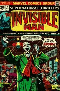Supernatural Thrillers #2 - VF - Jim Steranko Cover!