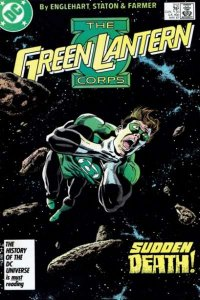 Green Lantern Corps (1986 series) #212, VF- (Stock photo)