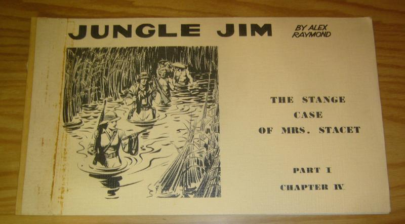 Jungle Jim by Alex Raymond part 1 chapter 4 FN stange case of mrs. stacet 197