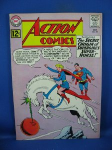 Action Comics #293 (Oct 1962, DC) F VF SUPERGIRL ORIGIN SUPERHORSE