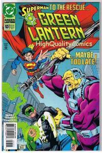 GREEN LANTERN #53, NM+, Kyle Rayner , Superman, 1990, more GL in store