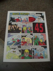 BUCK ROGERS #45-ITALIAN SUNDAY STRIP REPRINTS-CALKINS FN