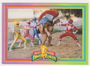 1994 Mighty Morphin Power Rangers #60 Pig Fight