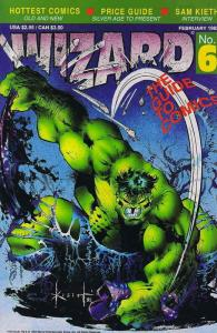 Wizard: The Comics Magazine #6 VF; Wizard   save on shipping - details inside