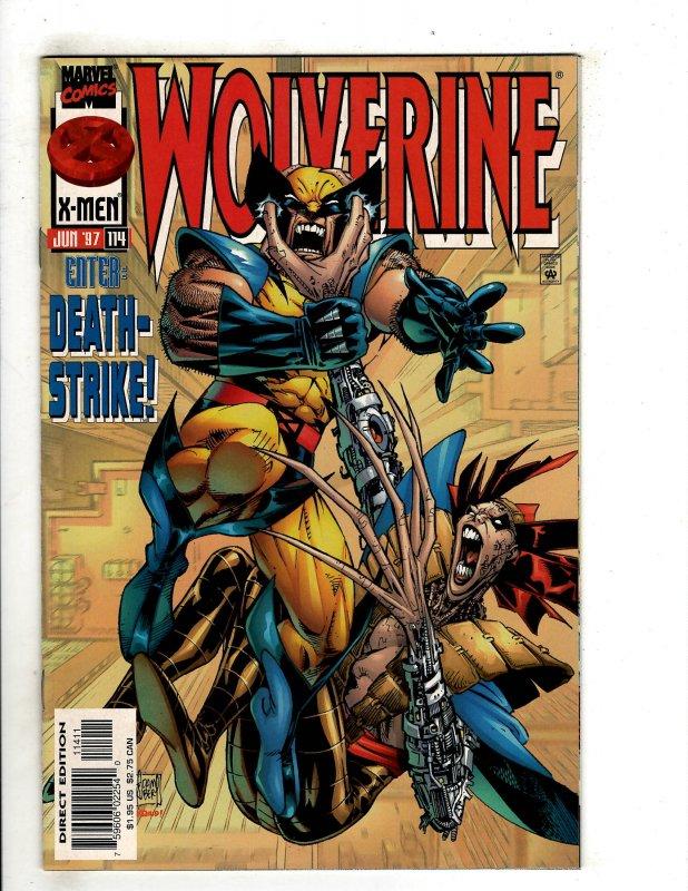 Wolverine #114 (1997) OF25