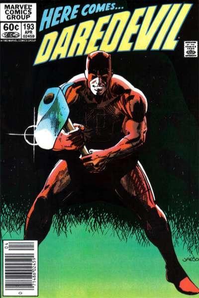 Daredevil #102 VF 2008 Stock Image