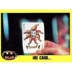 1989 Batman The Movie Series 2 Topps HIS CARD... #188