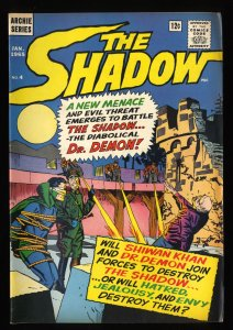 Shadow #4 FN/VF 7.0 (Archie)