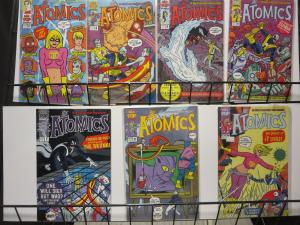 Atomics by Michael and Laura Allred AAA Pop Comics #3-10 Lot 7Diff Mad Man
