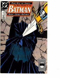 Lot Of 3 Batman DC Comic Books # 433 434 435 Many Deaths Of Joker Gotham AB2