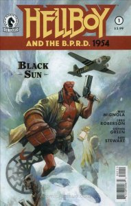 Hellboy and the B.P.R.D.: 1954—Black Sun #1 VF; Dark Horse   save on shipping -