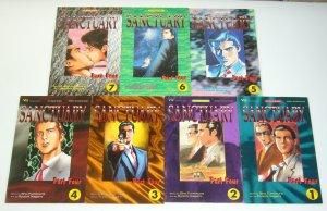Sanctuary part 4 #1-7 VF/NM complete series - viz manga 2 3 4 5 6 comics set