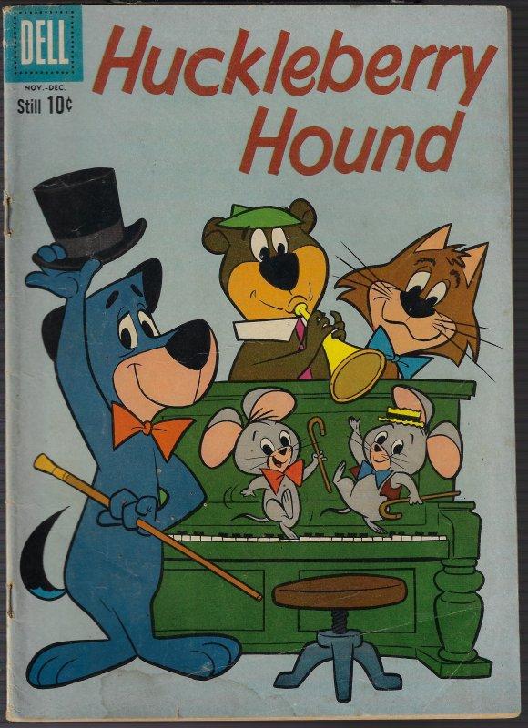 Huckleberry Hound #8 (Dell, 1968)VG+