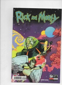 RICK and MORTY #46, 1st, VF/NM, Grandpa, Oni Press, from Cartoon 2015 2019
