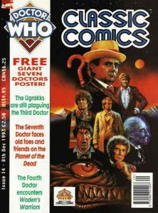 Doctor Who Classic Comics #14 FN; Marvel UK | save on shipping - details inside