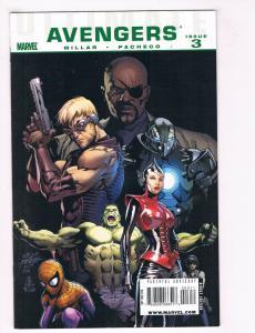 Avengers #3 NM Marvel Comics Comic Book Millar Hulk Captain America 2010 DE30